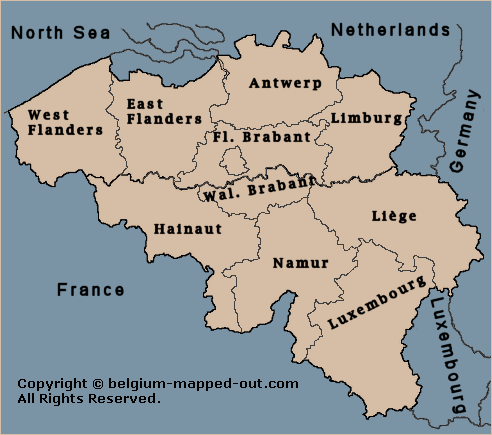 Belgian Provinces