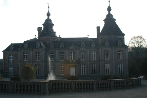 Modave castle in Modave