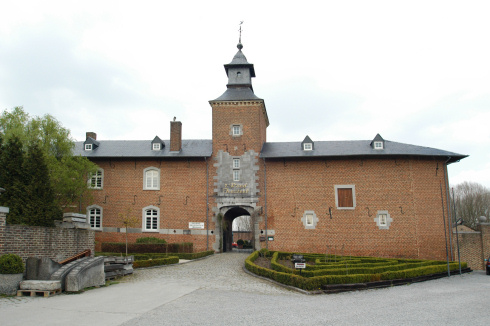't Rood castle in Kortessem
