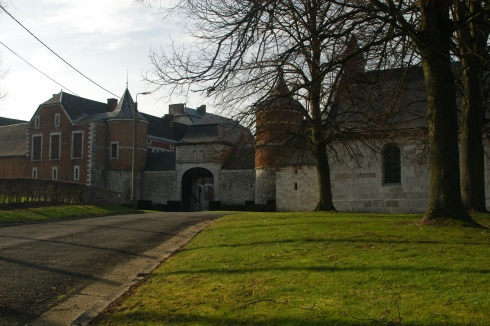 Oultremont castle in Warnant-Dreye