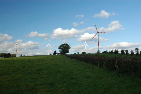 Wind farm in Bütgenbach