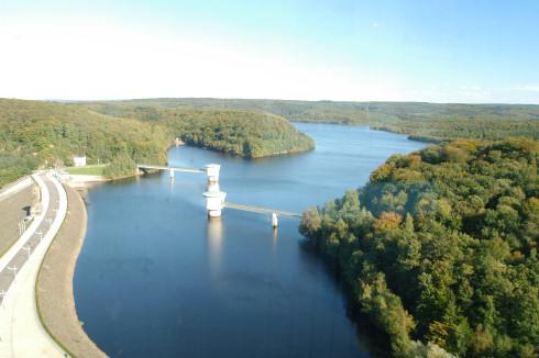 Gileppe Dam