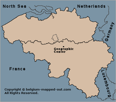 The Geographic Center of Belgium
