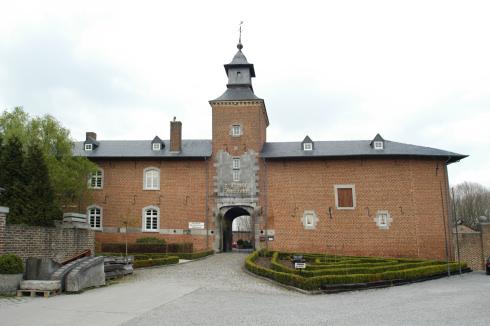 't Rood castle in Kortessem
