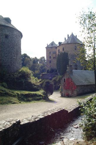 Reinhardstein castle in Waimes
