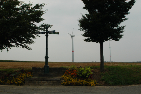 Wind farm in Perwez