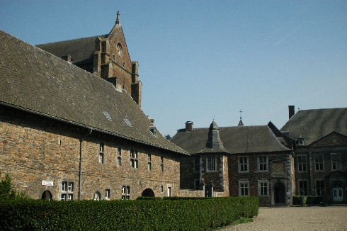Val-Dieu Abbey, left-side after the main entrance