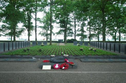 German Military Cemetery in Langemark
