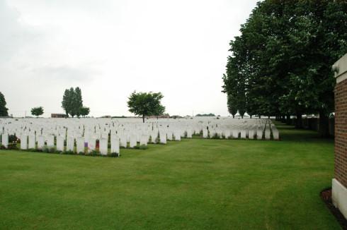 British Military Cemetery in Poelkapelle