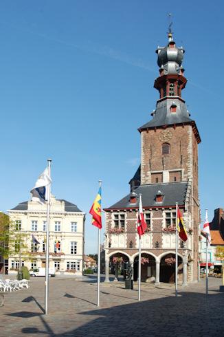 Belfry in Tielt
