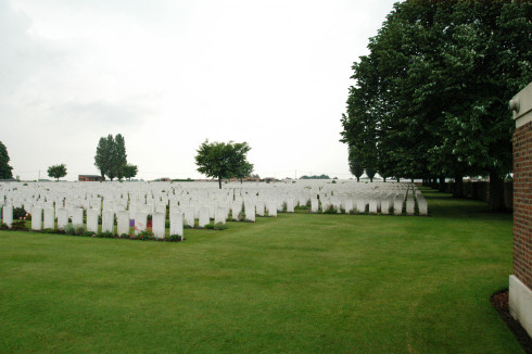 British Military Cemetery in Poelkapelle