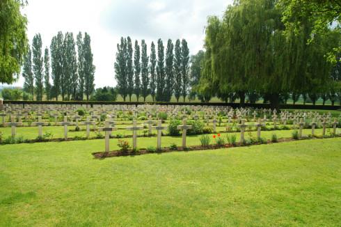 Lijssenthoek Cemetery in Poperinge