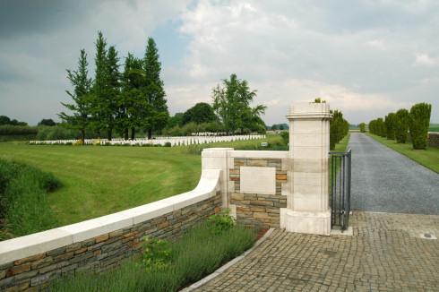 Bedford House Cemetery in Zillebeke