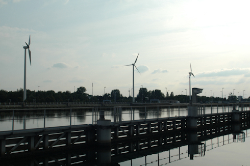 Turbines in Hasselt