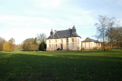 Castle in Schalkhoven
