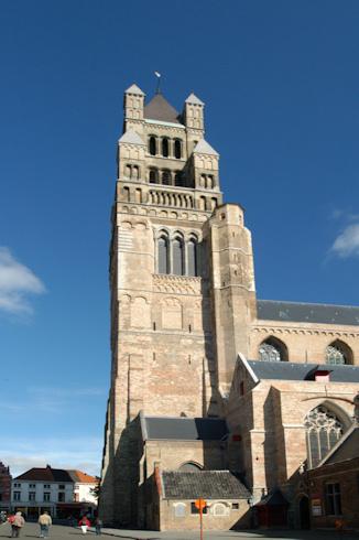 Cathedral in Bruges