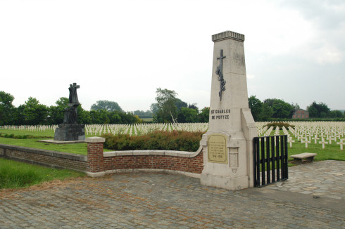 French Military Cemetery in Potyze-Ypres