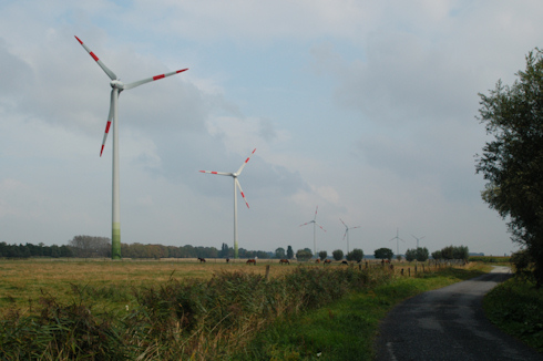 Turbines in Gistel